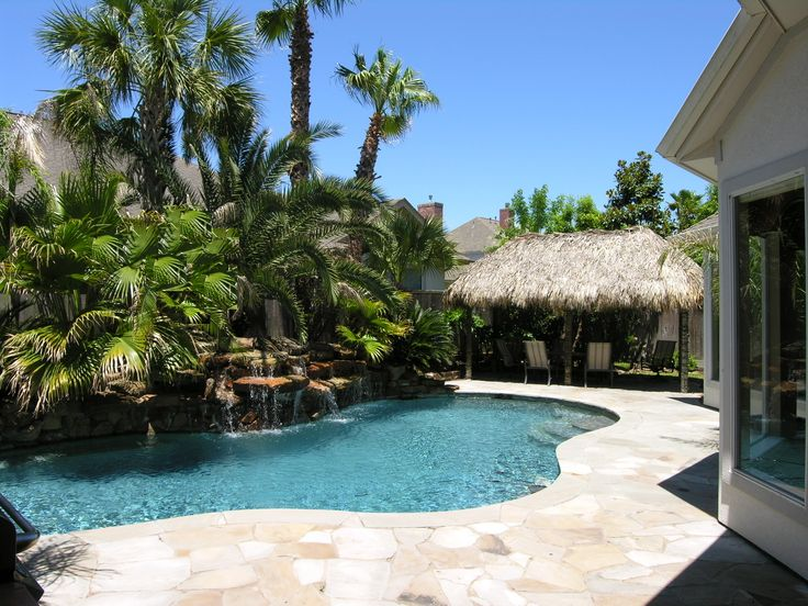 Pool Tropical Landscaping Ideas poolside landscaping ideas pictures - pueblosinfronteras