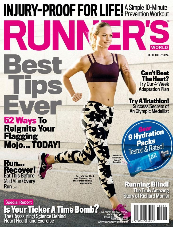 Read your FREE online copy of Runners World October 2016