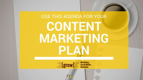 Use this six-step content marketing plan to get clear on your vision and how your content will lead you to achievable business goals and objectives.