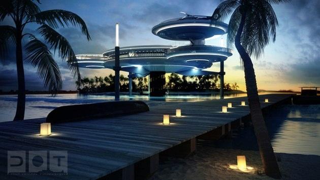 Water Discus Hotel: el hotel submarino de Dubai
