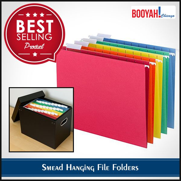 #GenuineImportedProductsDirectFromUSA Only at Booyahchicago.com Smead Hanging File Folders : http://tinyurl.com/ya49l6ps #OfficeSupplies #SchoolSupplies