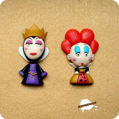 Super Punch: Saruman figurine ~The Evil Queen and The Queen of Hearts.