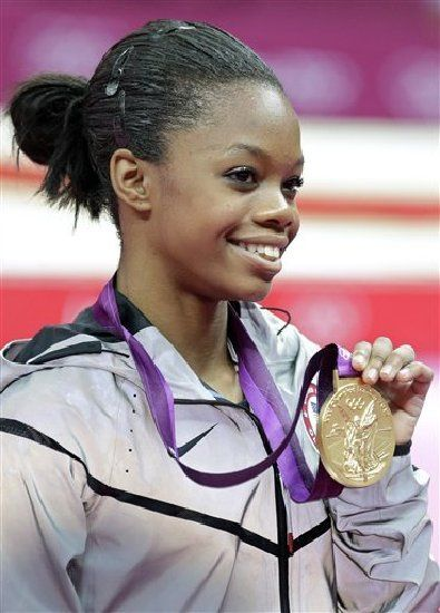 """Today in Black History, 12/31/2013 - Gabrielle Christina Victoria """"Gabby"""" Douglas was the first African American gymnast to win the Olympic individual all-around Gold medal at the 2012 London Olympic Games. For more info, check out today's notes!"""
