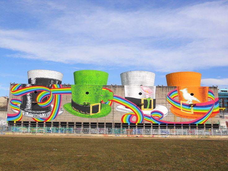 Parco Dora, Murales dedicato a Bobby Sands - Torino, Italia