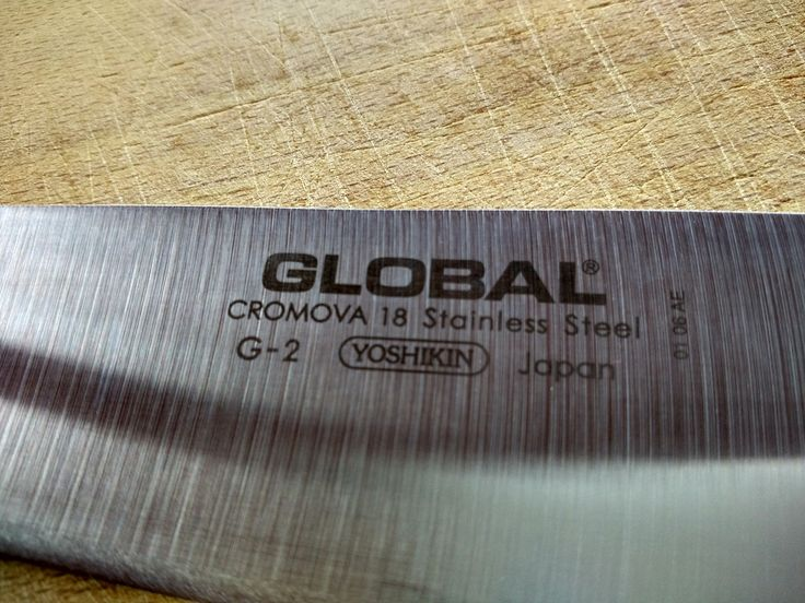 Blog - Recenzja i prezentacja: nóż szefa kuchni Global G-2. Zapraszam do przeczytania krótkiego opisu z nożem kuchennym który jest już na rynku 30 lat