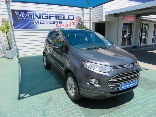 Grey Ford Ecosport 1 5 Tivct Titanium Powershift With 47778km Available Now Cars For Sale Ford Ecosport Used Cars