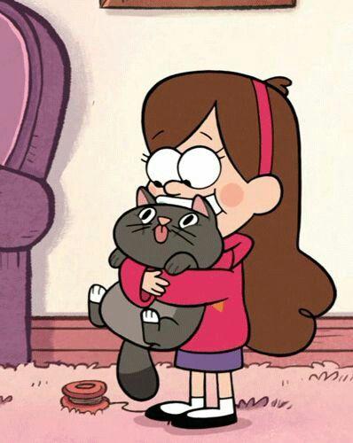 Gravity Falls + cats= perfection