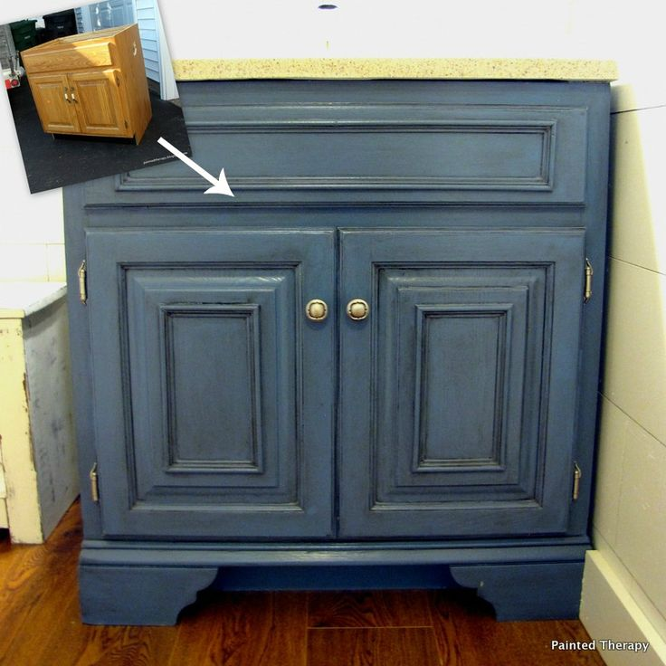 Painted Therapy: From Rags to Riches add trim , paint, then glaze