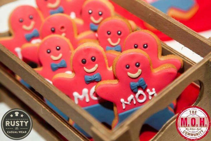 MOH's gingerbread cookies!