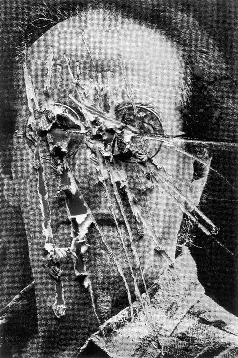 Josef Koudelka - FEDERAL REPUBLIC OF YUGOSLAVIA. Serbia. 1994. An obliterated poster.