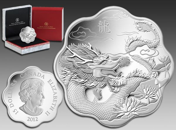 canada year of the dragon coin - Google Search
