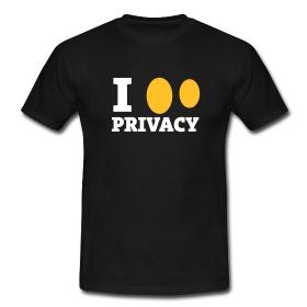 CyberGhost Black Love T-shirt ~ 4