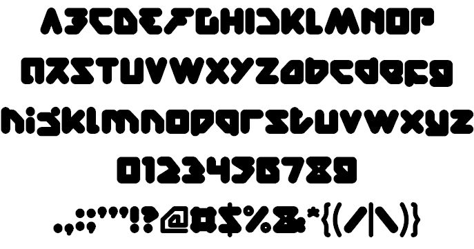 Image for bare knuckle fight font
