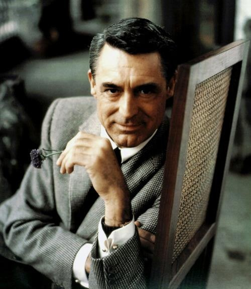 """I pretended to be somebody I wanted to be until finally I became that person. Or he became me."" -Cary Grant"