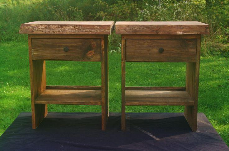 Live Edge White Pine Tables