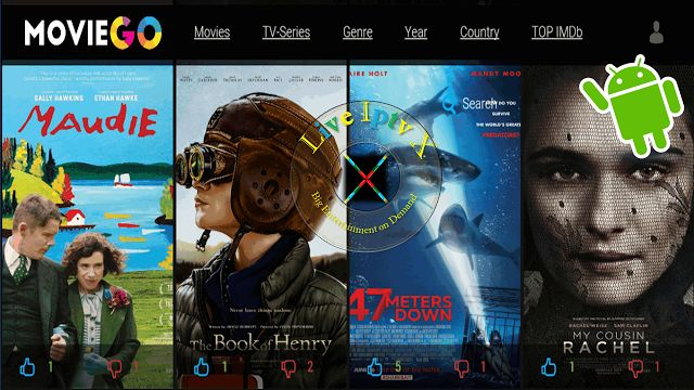Movie Go Apk For Movies In HD On Android   Movie Android Apk[ Iptv APK] : Movie Go Apk- Movies APK- On Your Android Device You Can Watch Latest Movies In HD  Top IMDB Movies TV Series AbsolutelyFree. This Is The Best Movies Apk For Watching in Movies In HD.  Movie Go Apk  Download Movie Go Apk  Android Android Movie Apk Slider
