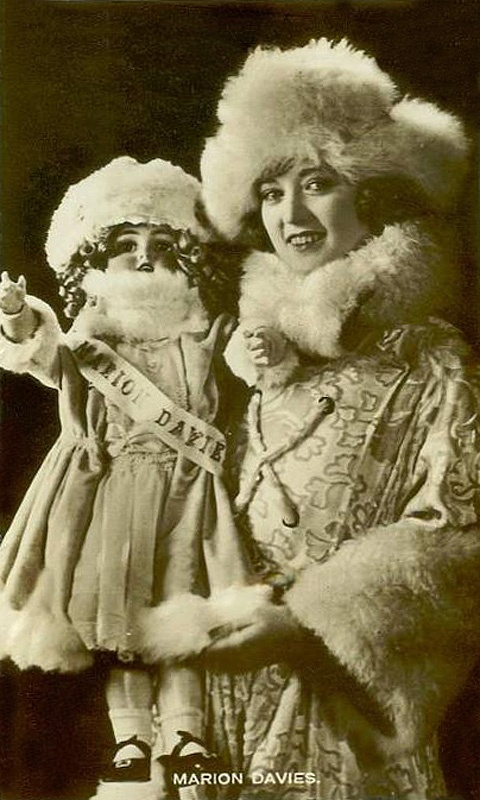 Marion Davies with doll
