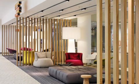 Guardian News - Office Space London  #commercial #lounge #office