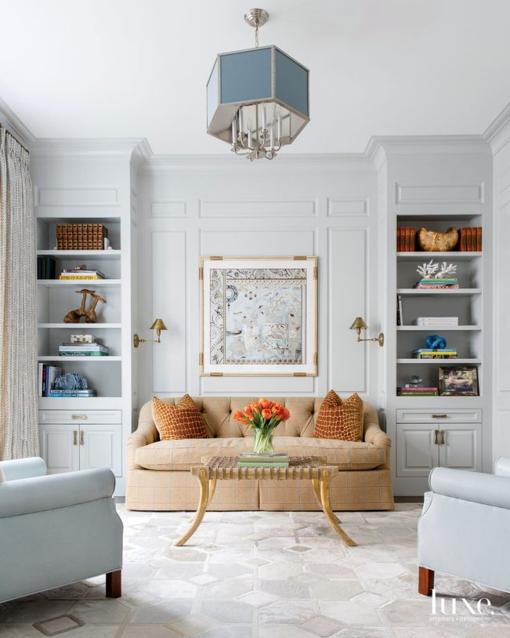 A Traditional Look With Contemporary Touches Wows Luxe