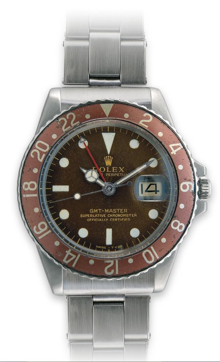 REF. 1675/0 Special attention has been paid to the variations of the bezels, dials and cases - factors which today help determine the value of the watch. http://www.mondanionline.com/rolex_gmt_master-18.php?&lingua=en