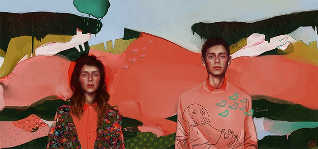 Magdalena Kapinos' Phantasmic Digital Paintings