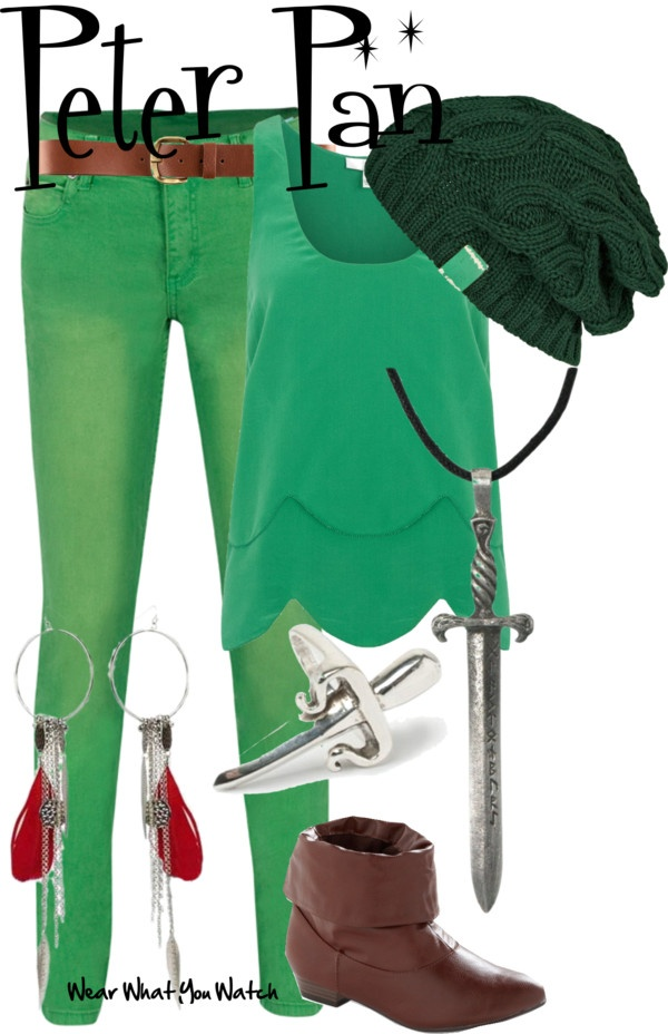 Inspired by Peter Pan voiced by Bobby Driscoll in the 1953 Disney version.