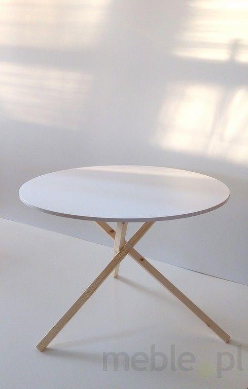 Nietypowy stół TRIPLE 115x75 cm, Meble Skandynawskie - Meble