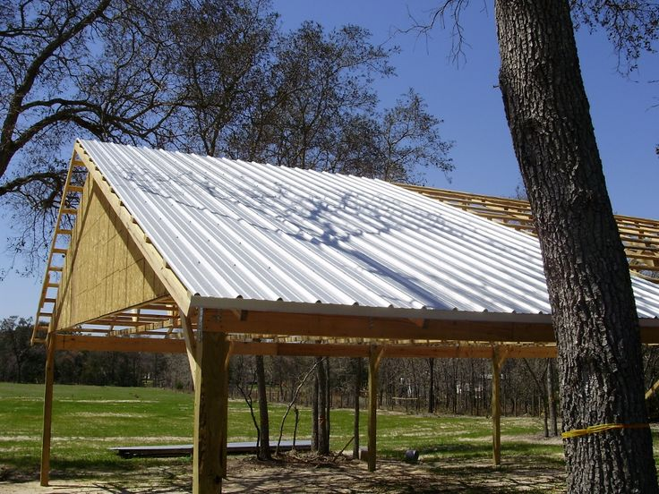 Building your own pole barn is easy with this basic guide to pole barn construction