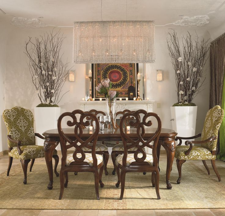 cassara 7 piece dining set by thomasville - Thomasville Living Room Sets