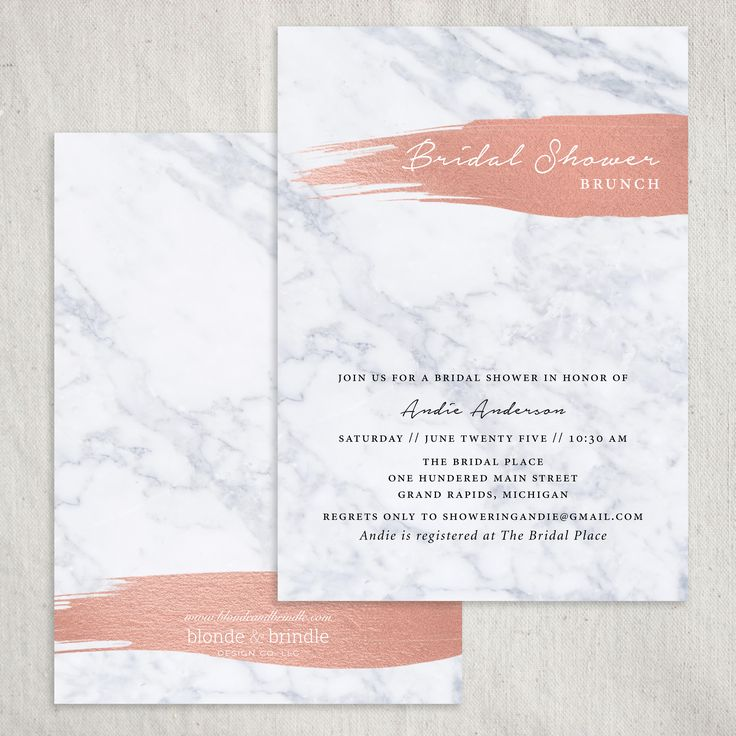 This super chic contemporary bachelorette party invitation