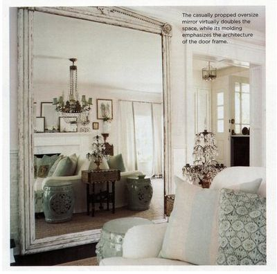 best 25 oversized mirror ideas on pinterest mirrors for halls antiqued mirror and distressed. Black Bedroom Furniture Sets. Home Design Ideas