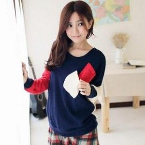 Slide Pocket Knitted - Baju Rajutan Model Kantong