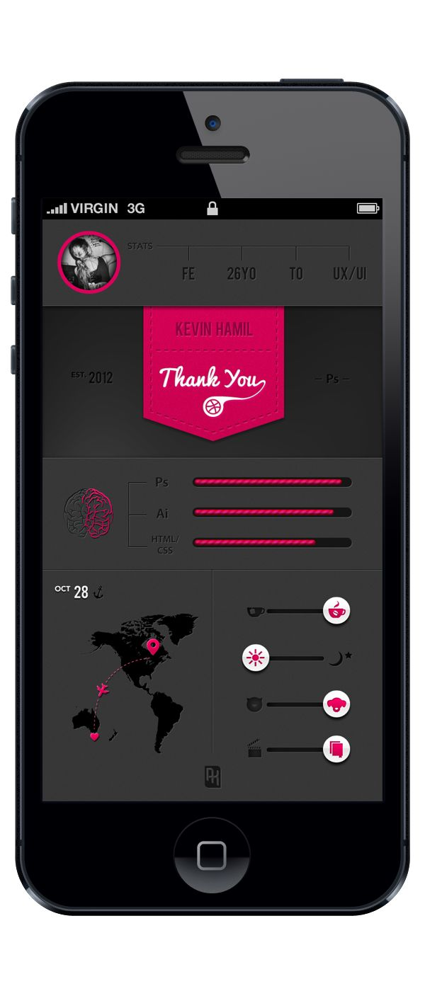 An Intro by Anna Karatcheva, via #Behance #Mobile #App    ----BTW, Please Visit:  http://artcaffeine.imobileappsys.com