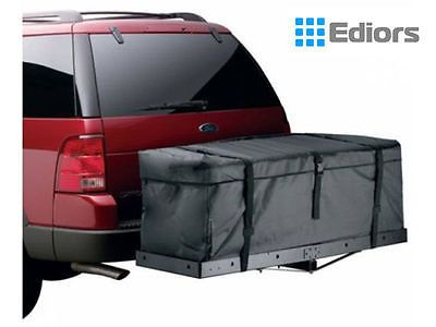 "58"" BIG Cargo Carrier Bag RV Truck Hitch/Roof Top Rear Luggage Water-Resistant L"