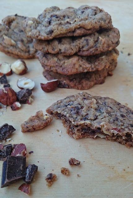 Ruokakonttuuri: Suklaacookiet (vegaaninen)