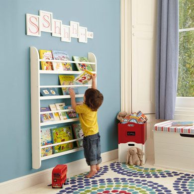 SamWall mount book display shelf (L)