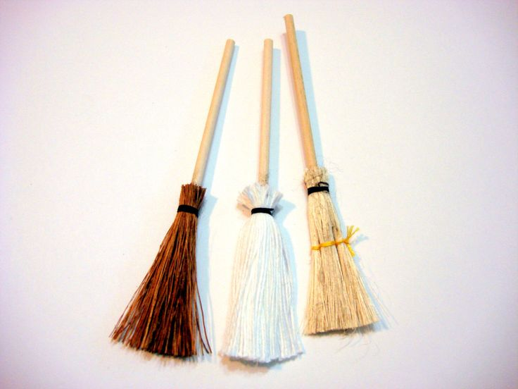 Miniature Mops and Brooms Dollhouse Supply by EmbellishmentButtons on Etsy https://www.etsy.com/listing/218535033/miniature-mops-and-brooms-dollhouse