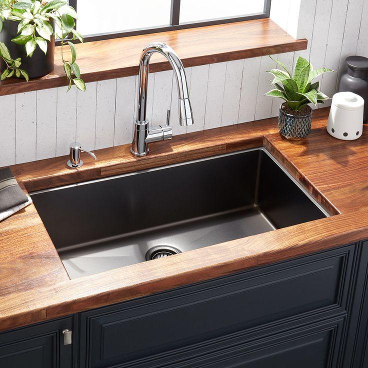 32 Quot Atlas Stainless Steel Undermount Kitchen Sink