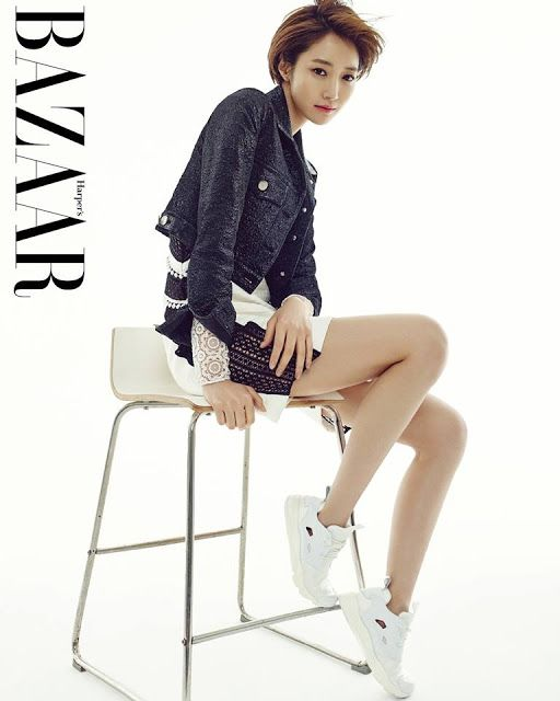 Go Joon Hee is leggy for 'Harper's Bazaar'! | Koogle TV