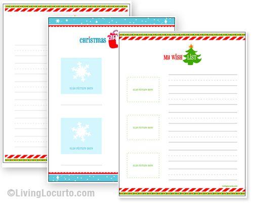 17 Best Ideas About Christmas List Printable On Pinterest
