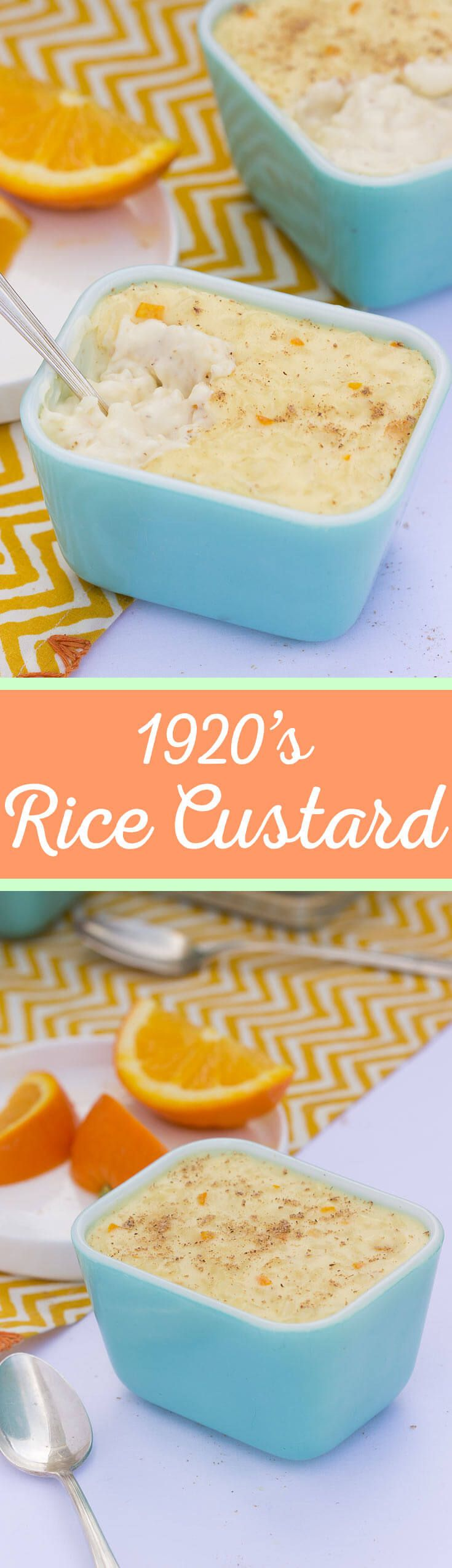 Sweet, creamy, and thick, this 1920's inspired Stovetop Rice Custard is a vintage recipe keeper! A great dessert that you'll want to make again and again.