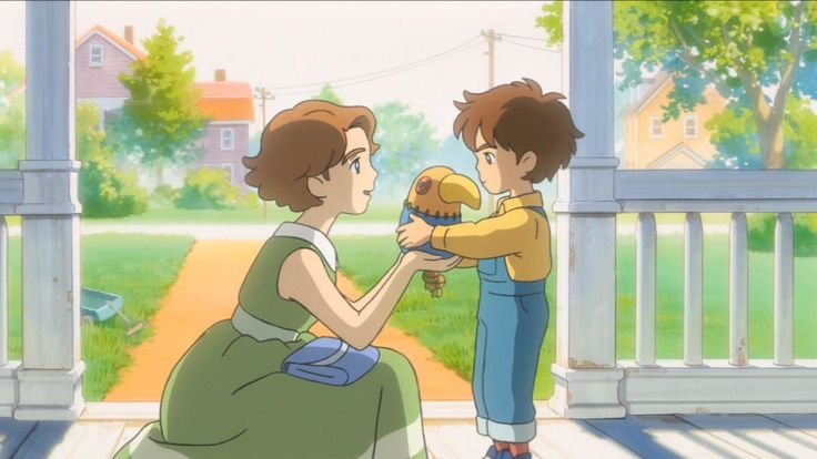 Ni No Kuni, little Oliver and his mother ...the feels are real