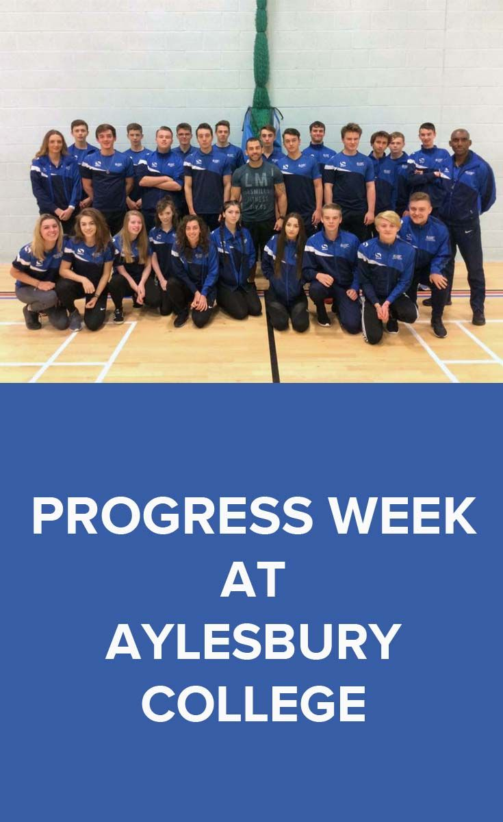 This week is Progress Week at Aylesbury College, which means students are encouraged to visit all elements of their study programme, including their main vocational studies, English and Maths lessons, Tutorials, work experience preparation and assessment tests to ensure that they are up to date with all of their work before the half term.