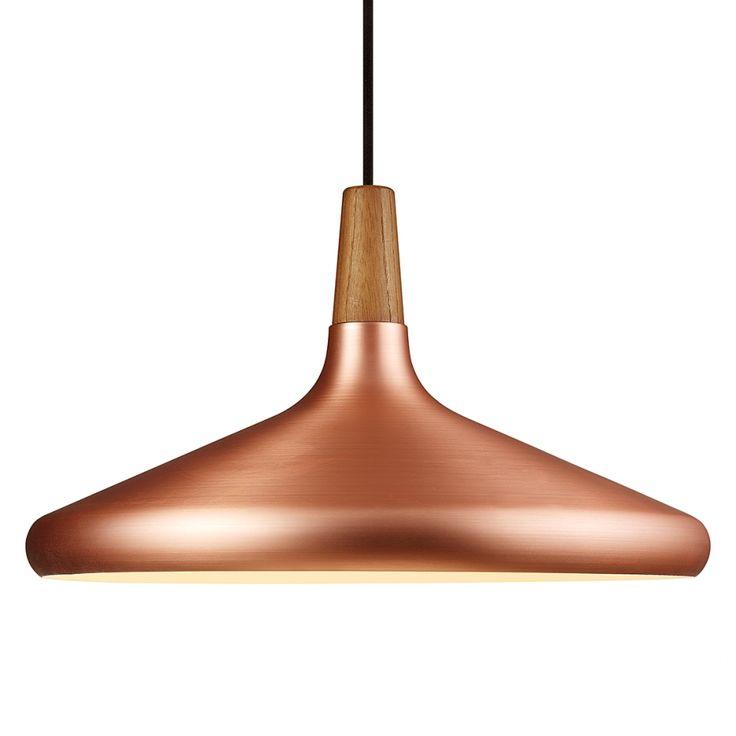 Hanglamp Float 39 - bruin metaal 1 lichtbron home24 van merk Nordlux