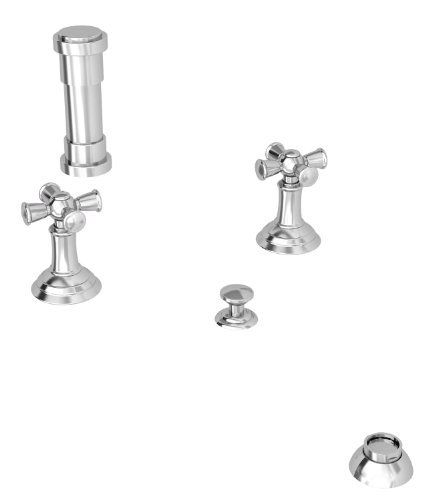 Newport Brass 240915A ANTIQUE NICKEL Bidet Set with Cross Handles 2409 by Newport Brass. $715.20. With over 20 years of innovation and design success, Newport Brass decorative plumbing and bath products will satisfy your most intimate desire to transform an everyday kitchen or bath into a room of classic beauty and distinction.ADA Compliant: No Collection: AYLESBURY Faucet Holes: 2 Handle Style: Metal Cross Handles Included: Yes Low Lead Compliant: Yes Material: Brass Style: ...