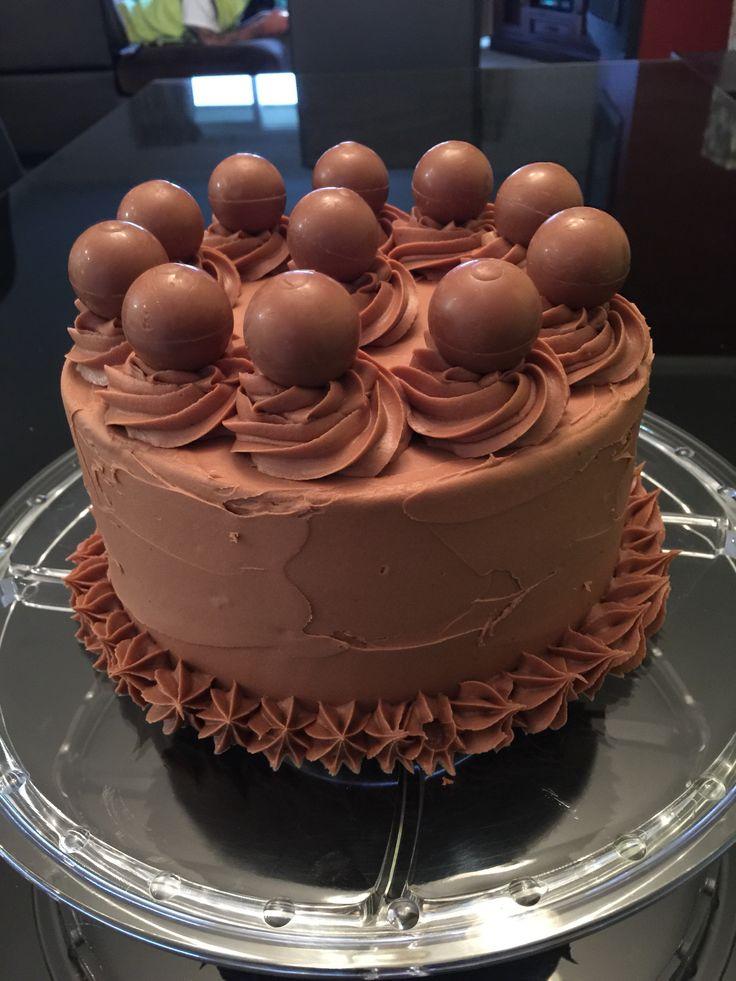 Jaffa cake with milk chocolate ganache & Lindt balls.