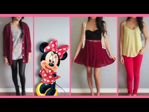 """Inspired by beloved Disney characters, fashion-savvy Beautycakez creates trendy and wearable """"Character Couture"""" outfits for school, work or even special occasions! http://di.sn/s26"""