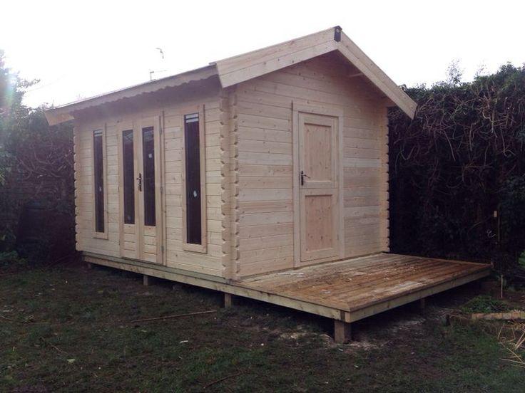 Bespoke log cabin, garden office