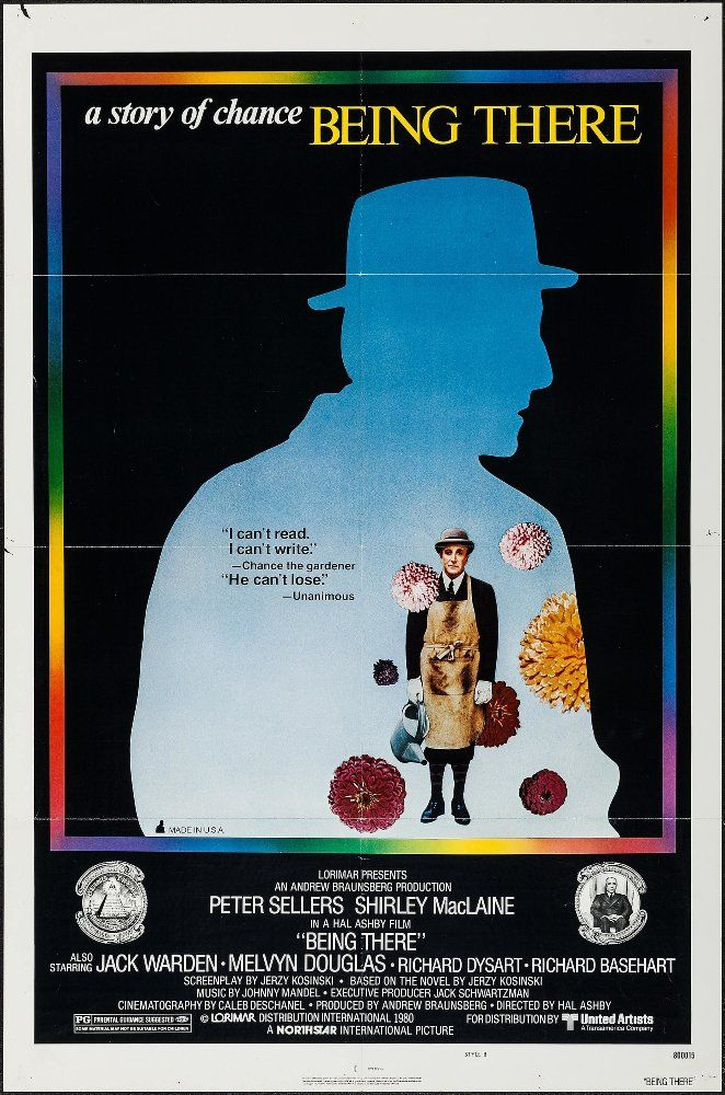 Hal Ashby's BEING THERE (1979):