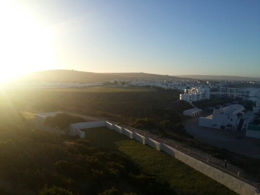The rising sun on the West Coast, Langebaan